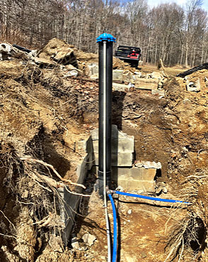 Water Well Casing Extension - Hudson Valley NY